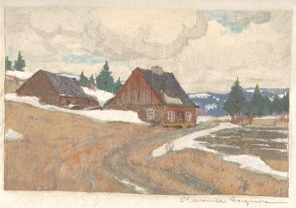 Clarence Gagnon  Maria Chapdelaine
